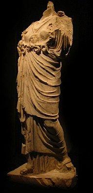 Statua di Minerva dal santuario di Breno-Spinera